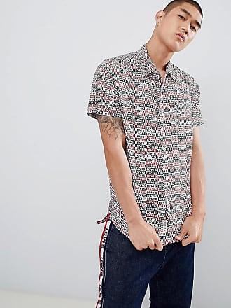 Levi's short sleeve sunset 1 pocket cloud dancer shirt