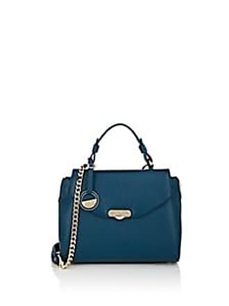 76b9f8ed5e Versace Womens Leather Satchel - Blue