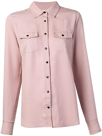 Gold Hawk Camisa com bolso - Rosa