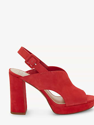 Vince Camuto Womens Jeangel In Color: Glamour Red Shoes Size 11 True Suede From Sole Society