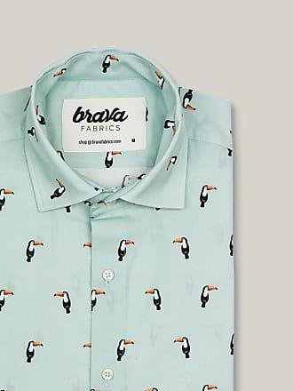 Brava Fabrics Tropical Tucan Printed Short Sleeve Shirt