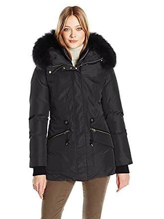 b054d5d786bb5 Mackage Womens Katryn Hip Length Classic Down Jacket with Fur Hood