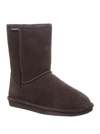 867ca33a8 Bearpaw Emma Short Suede Genuine Sheepskin Footbed Boot