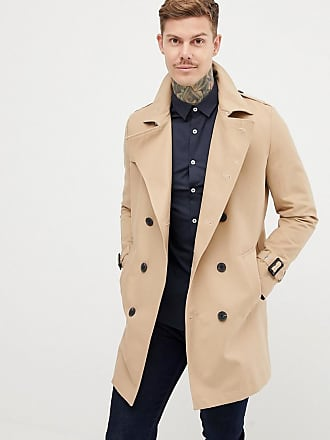 Asos Trench imperméable coupe croisée - Taupe - Taupe 0a1f11184b5f