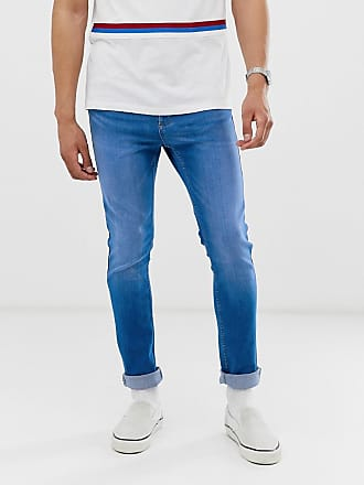 New Look skinny jeans in blue wash - Blue