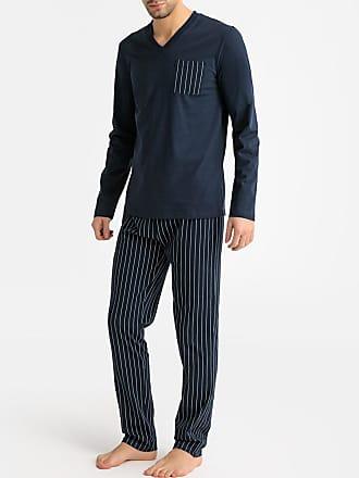 185b833e1b4 La Redoute Collections Pyjama met lange mouwen en V-hals, gestreepte broek