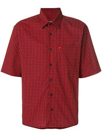 Ami Camisa mangas curtas Ami de Coeur - Vermelho