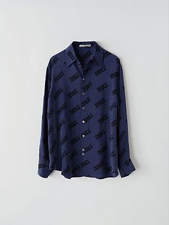 d748fb71d Acne Studios FN-WN-BLOU000131 Navy/black Printed shirt