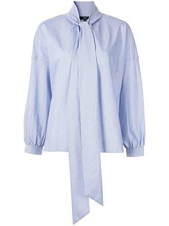 JEJIA Camisa listrada - Azul
