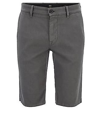 30137e5af BOSS Slim-fit chino shorts in structured stretch cotton