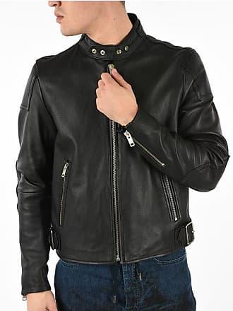 Diesel Leather L-RUSHIS Biker Jacket size Xxl