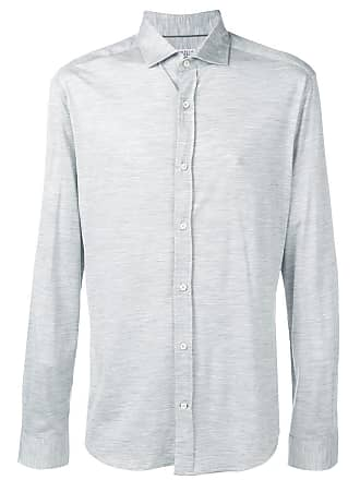 Brunello Cucinelli Camisa de jersey - Cinza