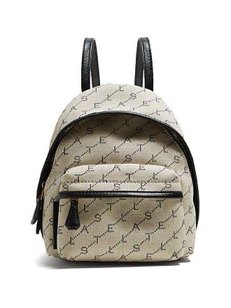 Stella McCartney Stella Mccartney - Logo Print Backpack - Womens - Cream Multi