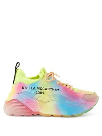 Stella McCartney Stella Mccartney - Eclypse Rainbow Print Trainers - Womens - Multi