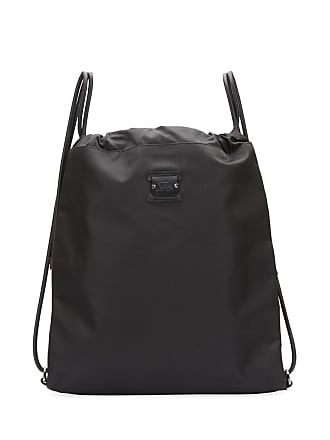 c99622e23b95 Christian Louboutin Mens Kaloubi Drawstring Backpack with Leather Trim