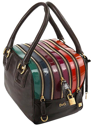 4feb3287fe Dolce   Gabbana D g S s 2008 Dolce   Gabbana lily Brown Multicolor Leather 5