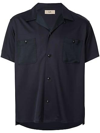 Loveless Camisa com bolso no busto - Azul