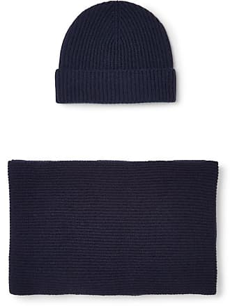 676671e7f4e Johnstons of Elgin. Ribbed Cashmere Scarf And Beanie ...