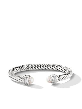 David Yurman Cable pearls and diamond 7mm cuff - Ssdpedi
