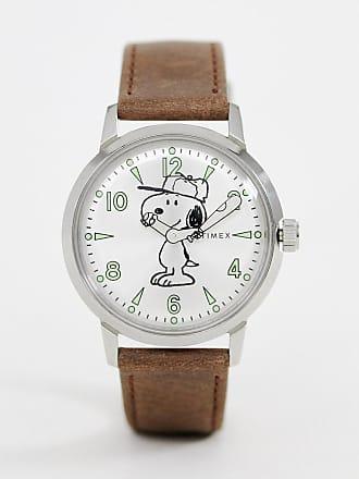 7024accd8716 Timex Reloj de cuero de 40 mm en marrón Welton de Timex x Snoopy