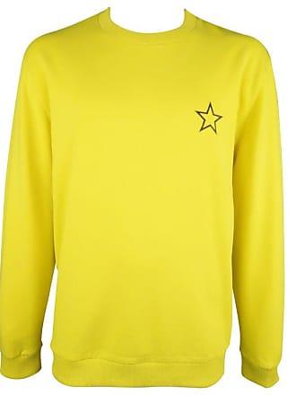 396b808482 Givenchy Size Xxl Yellow Cotton Star Crewneck Sweatshirt. In high demand
