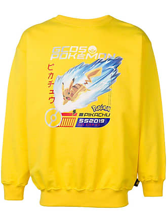 GCDS GCDS X Pokémon crew neck sweatshirt - Yellow