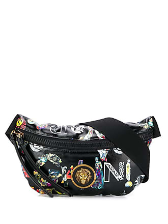 Versus lion head belt bag - Black