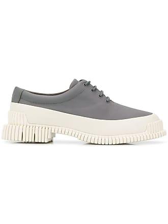 Camper Sapato de couro Pix - Cinza