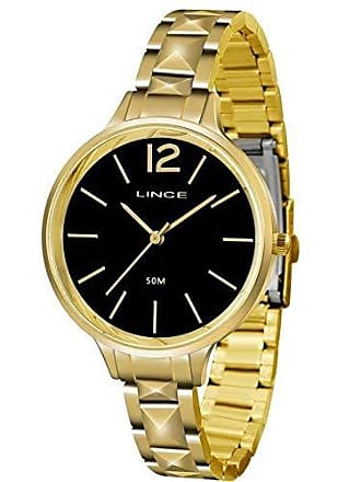 Lince Relógio Feminino Lince Casual LRGH066L P2KX - Dourado
