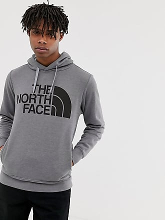 The North Face Mega Half Dome hoodie in gray - Gray