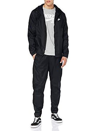 edbb03bc9749 Nike Ce TRK Suit HD Wvn, Tuta Uomo, Nero Black/White 010,
