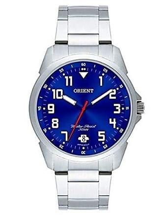 Orient Relogio Masculino Orient Analogico - Mbss1154a D2sx - Prata/azul