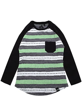 Fatal Surf Camiseta Fatal Menino Listrada Verde