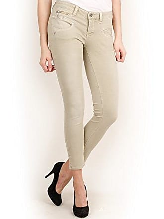 7530d65e4711 Freeman T. Porter Alexa Cropped Magic Color Pantalones, Gris (Moonstruck  F765),