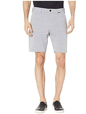 Hurley 19 Dri-Fit Cutback Walkshorts (Wolf Grey) Mens Shorts