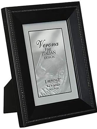 Lawrence Frames Tu by Edo, Black Wood 4 by 6 Picture Frame