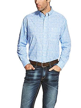 Ariat Ariat Mens Classic Fit Long Sleeve Button Down Shirt-Pro Series, Multi, Large