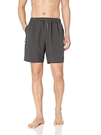 037f0f9f2c Quiksilver Mens Lockdown Volley 18 Swim Trunk Boardshorts, Dark Shadow, M