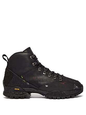Roa Andreas Leather Boots - Mens - Black