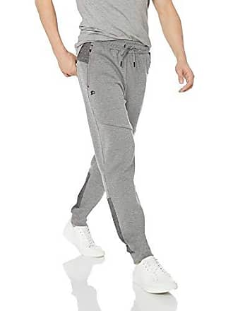 27a0d0df213ac4 Starter Mens Double Knit Colorblocked Jogger Sweatpants, Amazon Exclusive,  Vapor Grey Heather, XXL
