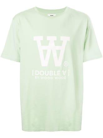 Wood Wood Camiseta lisa - Verde