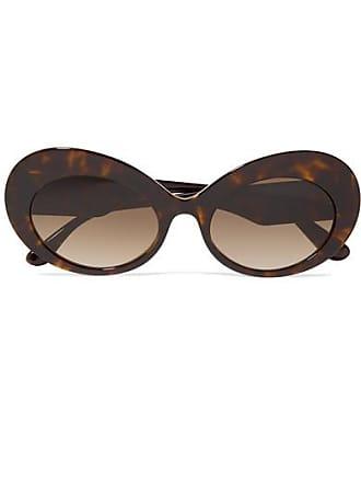 82ff080a2572 Dolce   Gabbana Oval-frame Tortoiseshell Acetate Sunglasses