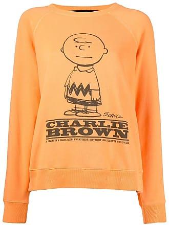 Marc Jacobs Charlie Brown printed jumper - Laranja