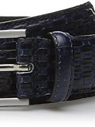 Stacy Adams Men/'s 32mm Ostrich Leg-Embossed Genuine Leather Belt