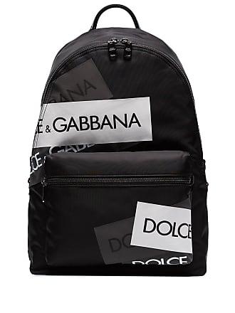 Dolce & Gabbana Mochila Vulcano com logo - Preto