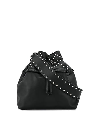 Red Valentino leather bucket bag - Black