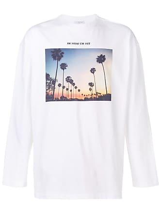 Ih Nom Uh Nit Palm Springs print T-shirt - Branco