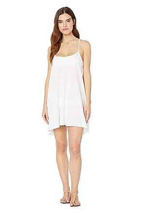 25978f36a2 Vitamin A Paloma Knit Mini Dress Cover-Up (Ecocotton White) Womens Swimwear