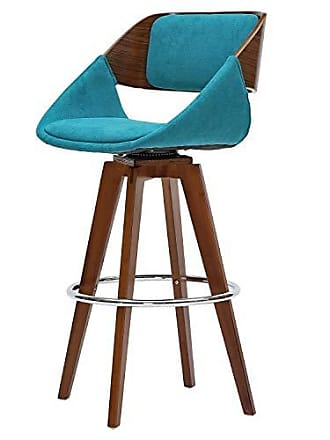 New Pacific Direct 1160004-291W Cyprus Fabric Bar Bar & Counter Stools, One Size, Santorini Teal Green