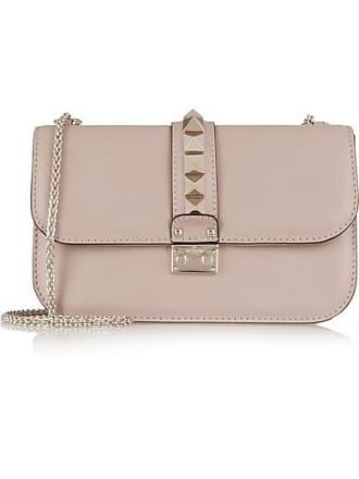 74eb746a27fe Valentino Valentino Garavani Lock Medium Leather Shoulder Bag - Blush